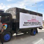 Polda Sulteng kembali berangkatkan bantuan kemanusiaan ke Sulbar