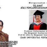 Gardi Gazarin ICK Ucap Selamat Megawati Soekarno Putri Dapat Gelar Profesor Kehormatan Universitas Pertahanan