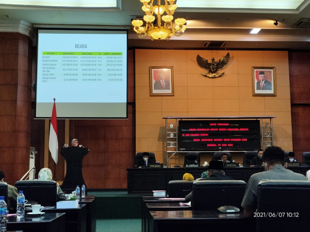 Rapat Paripurna Dprd Jombang
