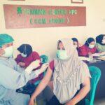 PT.HIP -CCM Group Buol Bersama UPTD Puskesmas Modo Gelar Percepatan Vaksinasi Covid 19